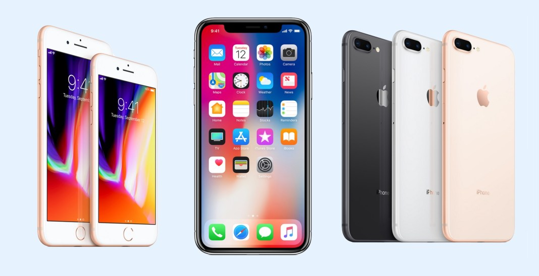 apple iphone-x iphone 8