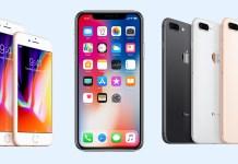 apple iphone-x iphone 8