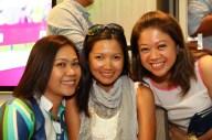 Vimz Mendoza, Kaye Lopez and Princess Galura