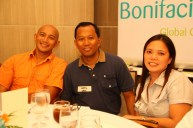 All Terra Cyclery's Edmund Mangaser with Filinvest's senior business development manager, Arch't. Noel Advincula