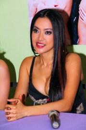 Mocha Uson, lead vocalist for the Mocha Girls.