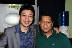 UNO Magazine's editor-in-chief, RJ Ledesma, a very accommodating guy.