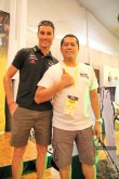 Me with Craig Alexander, the course record holder for the Ironman World Championship and the winner of the Ironman 70.3 World Championship in 2006 and 2011.