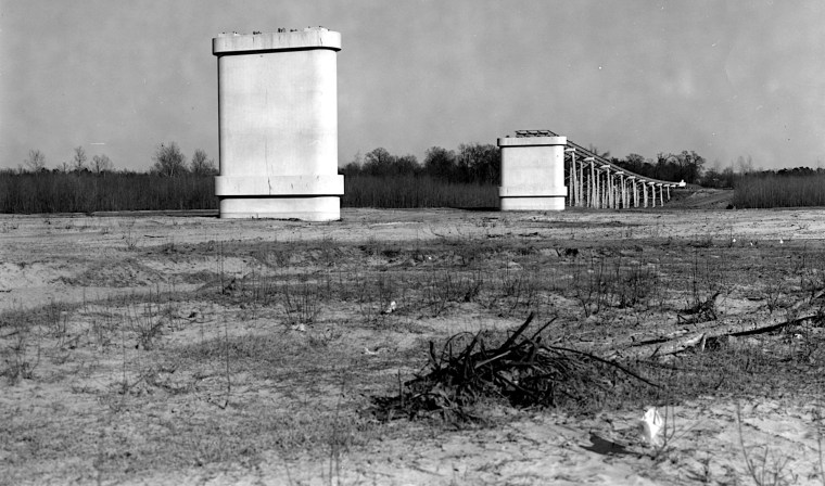 Highway 2 Bridge Plain Dealing/Hosston, 1954