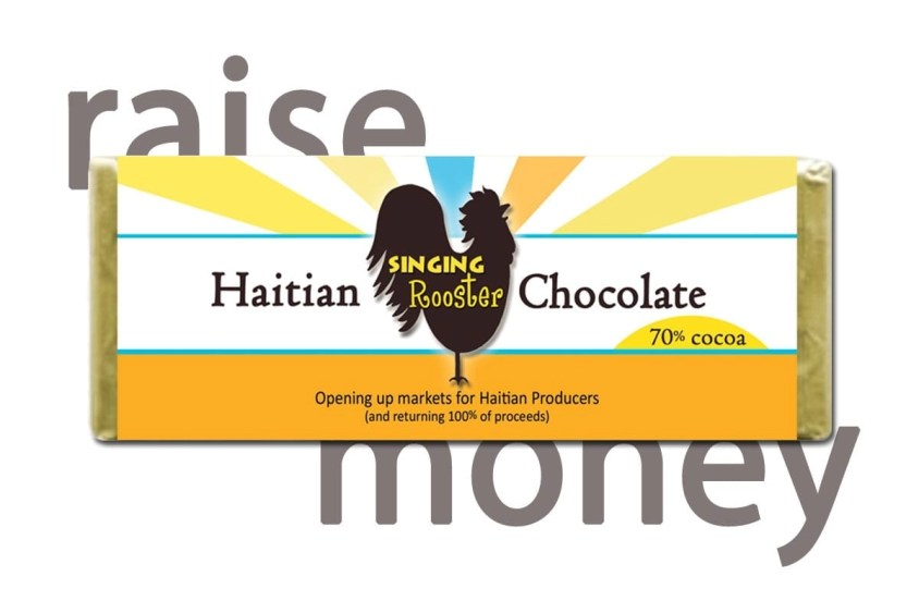 Haitian chocolate fundraiser, Singing Rooster