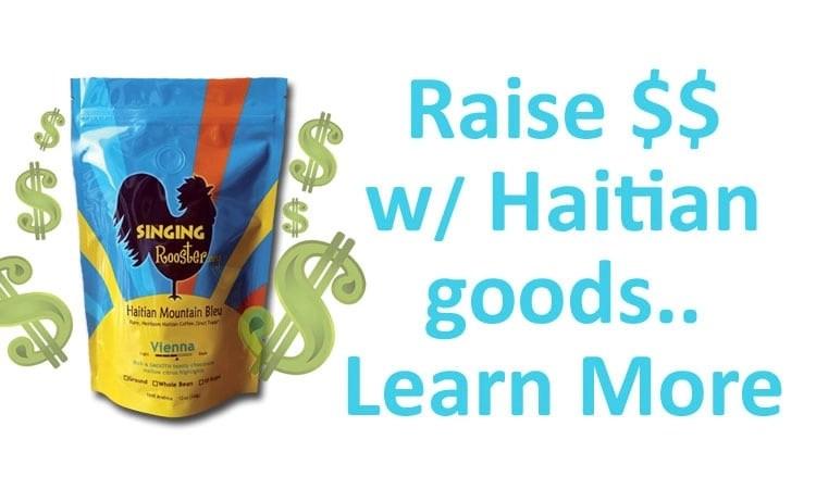 Haitian coffee, chocolate, art fundraiser