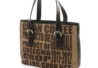 Recycled Coffee bag Art Contest
