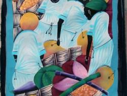 Buy Haitian Market Painting online