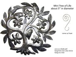 Tree of Life, Haitian art, recycled metal