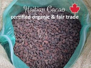 Raw Haitian Cacao Canada