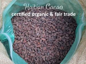 Raw Haitian Cacao