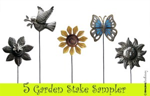 metal garden stakes online