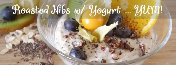 cacao nib recipe yogurt