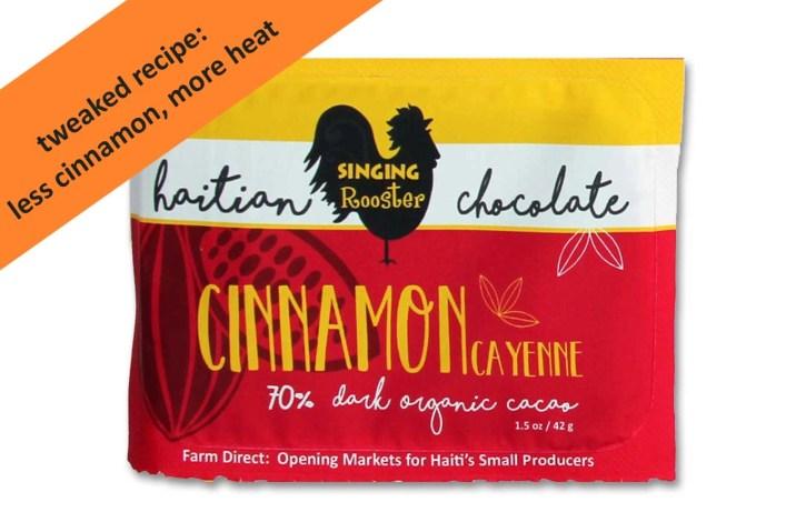 cinnamon cayenne cayanne cayane chocolate haiti