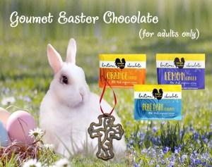 Haitian chocolate Easter gift