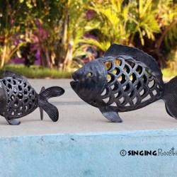 fish sculpture haiti