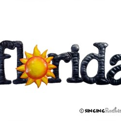 florida word art