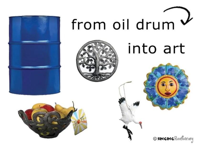 ftf oil drum art haiti