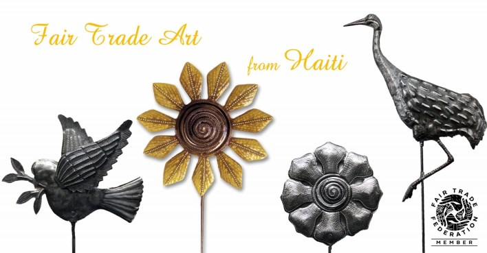 garden art haiti fair trade