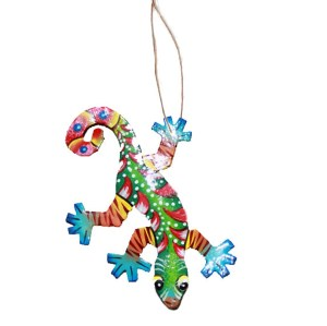 gecko Christmas ornament
