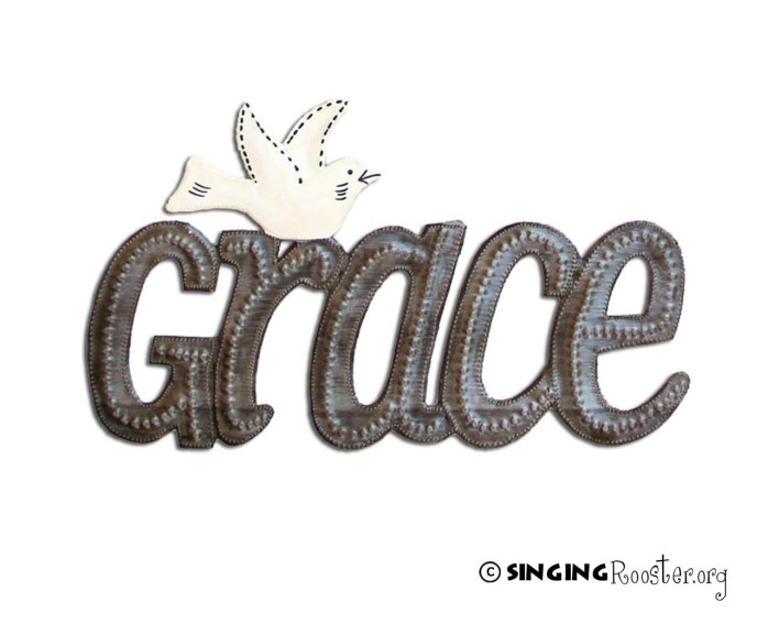 shop grace sign wall art