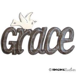 shop grace sign wall art