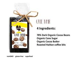 coffee chocolate bar, haiti