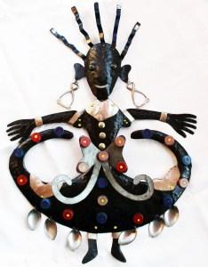 haitian art dancing spoons