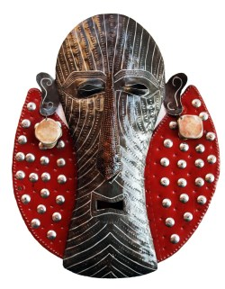 haitian recycled metal art