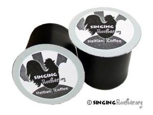 single serve Haitian coffee cups