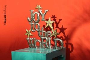Joy to the World Christmas decor