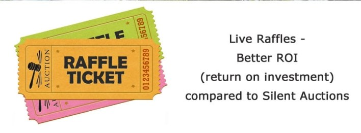 how to live raffle raffel fundraise
