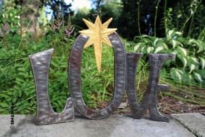 Love nativity from Haiti
