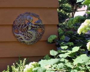 mermaid metal wall art