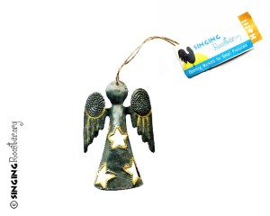 metal angel ornament haiti