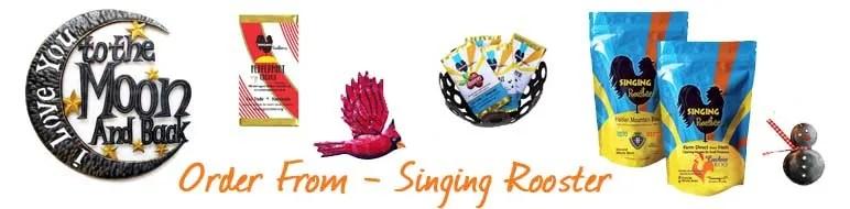 order form singing rooster