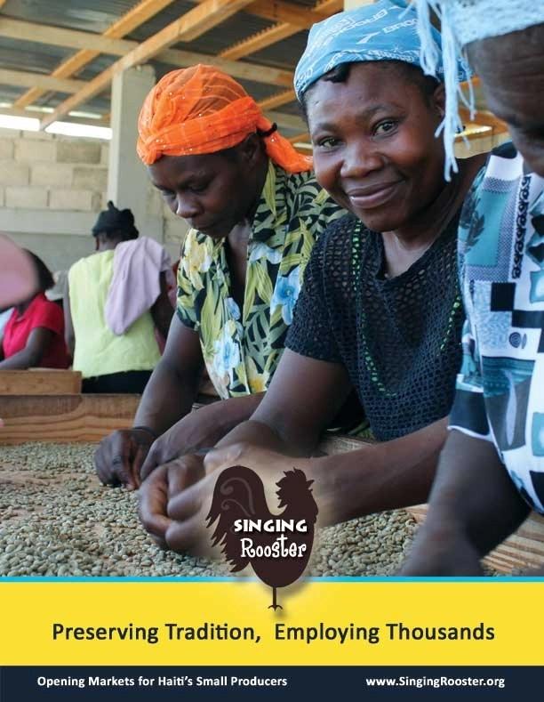 Singing Rooster Haitian coffee bean sorters