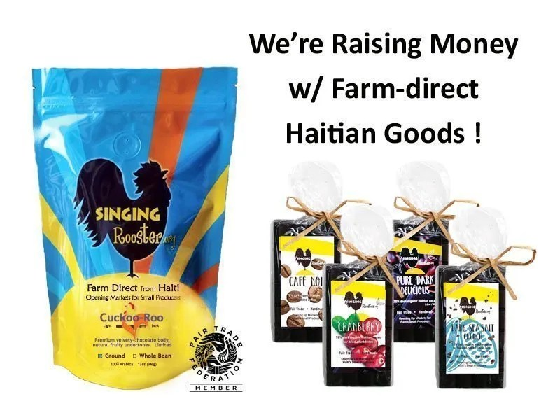 Ideas for raising money, Haitian coffee