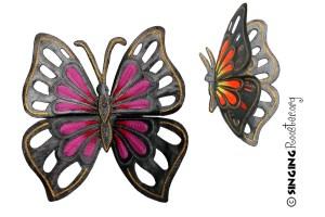 buy butterfly garden art online