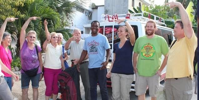 travel in haiti minibus