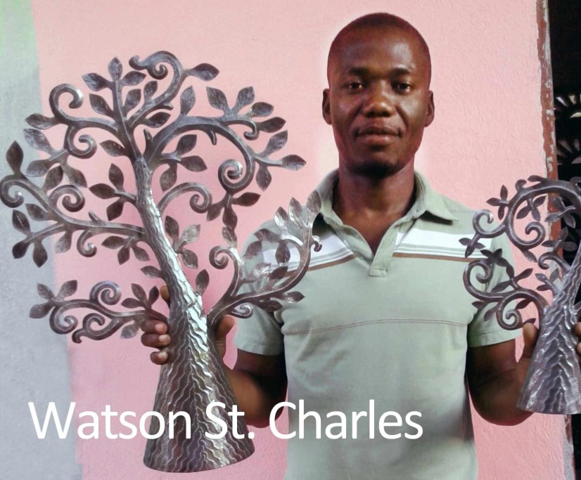 Waston St. Charles, Haitian artists