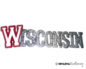 wisconsin metal wall art