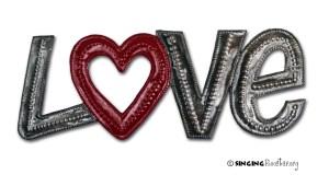 buy word art love haiti online
