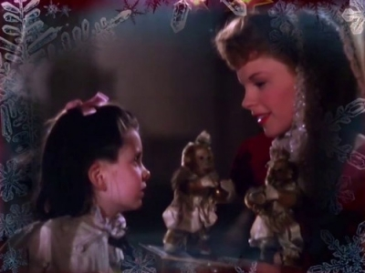 Judy Garland singing Have Yourself a Merry Little Christmas in Meet Me in St. Louis