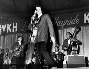 Performing on Louisiana Hayride