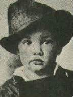Elvis as a young child