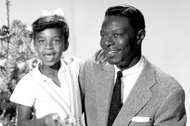 Nat King Cole with his daughter, Natalie