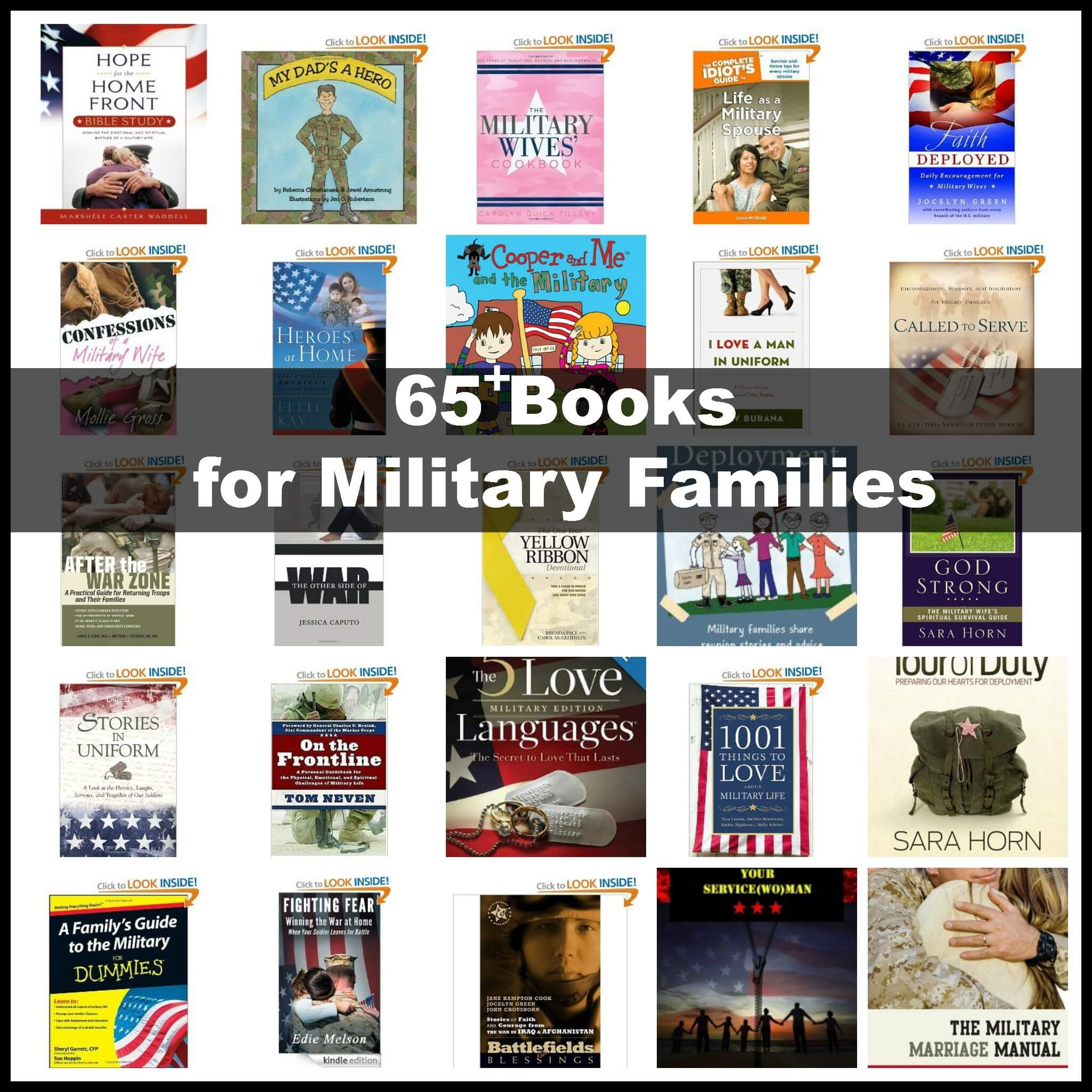 Books for military families. Military Life: