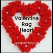 Valentine Rag Heart