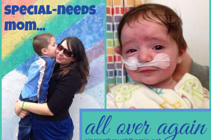 Becoming a Special Needs Mom All Over Again (an update)